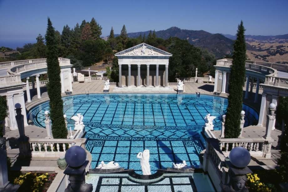 Hearst Mansion, San Simeon, Californie, États-Unis