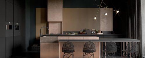 Conception de cuisine à la mode en 2020: Idées d'intérieurs de cuisine non triviales