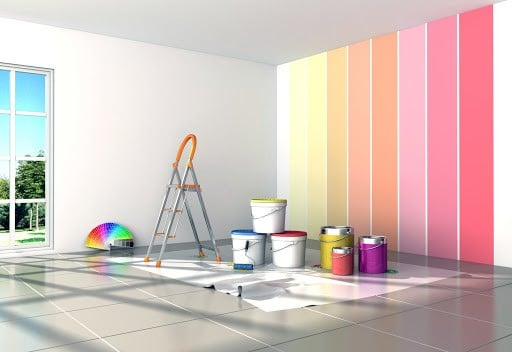 Utiliser des solvants dans le cadre de travaux de peinture