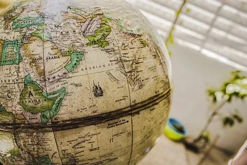 carte globe