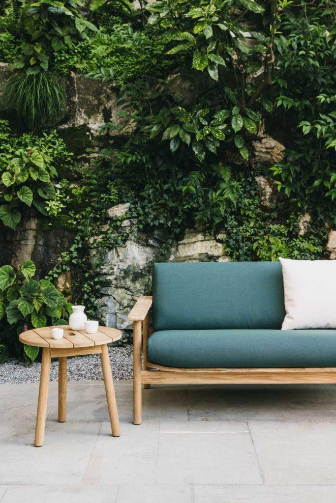 jardin avec canape kettal