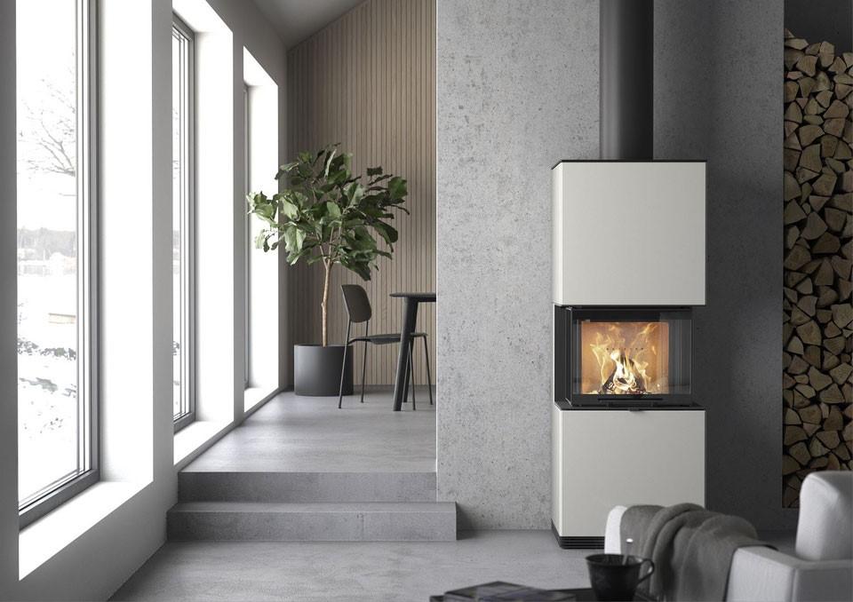 modèle cheminés modernes