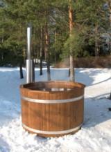 bain suédois en plein air