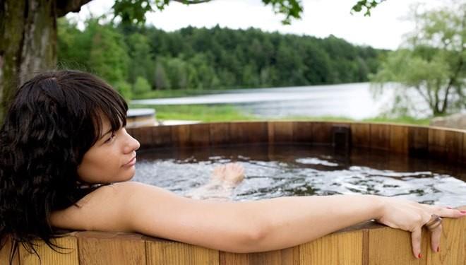 prendre un bain