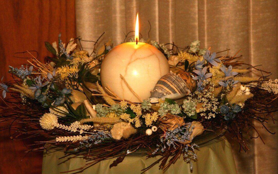 Couronne fleurs sechees : Comment faire une couronne de fleurs séchées pour sa déco ?