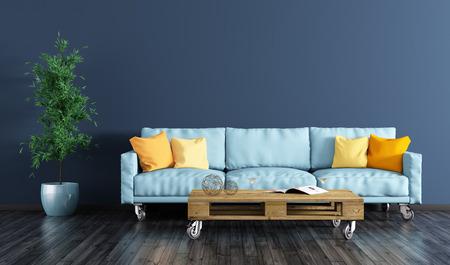 Les styles de peinture tendance en 2021 pour rénover un salon