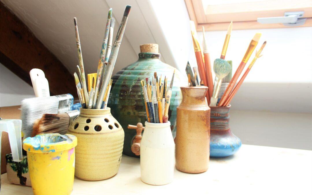 outil pour peintre