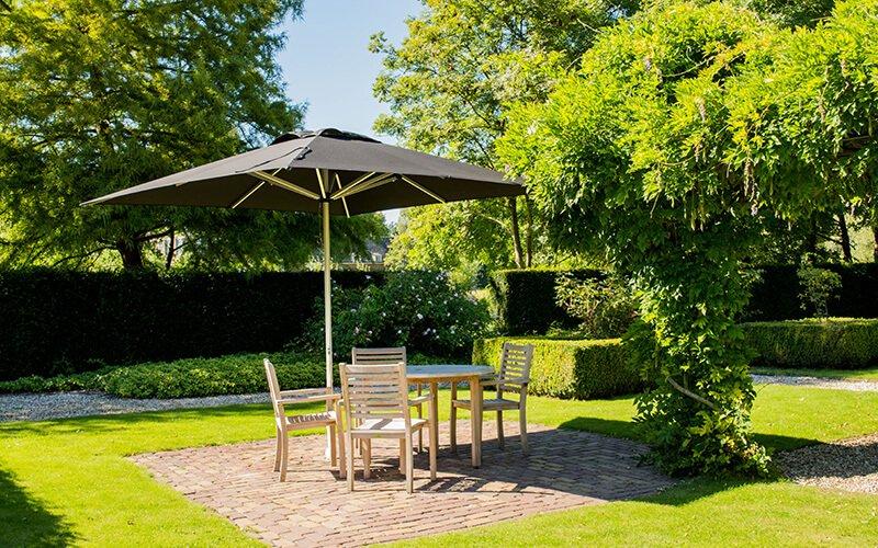 Choisir le meilleur parasol en fonction de votre jardin